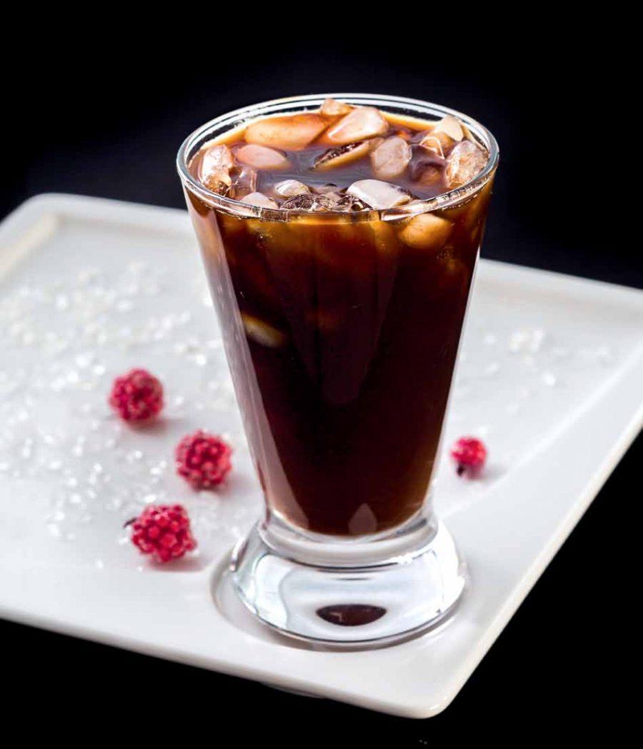 Холодный кофе c ромом