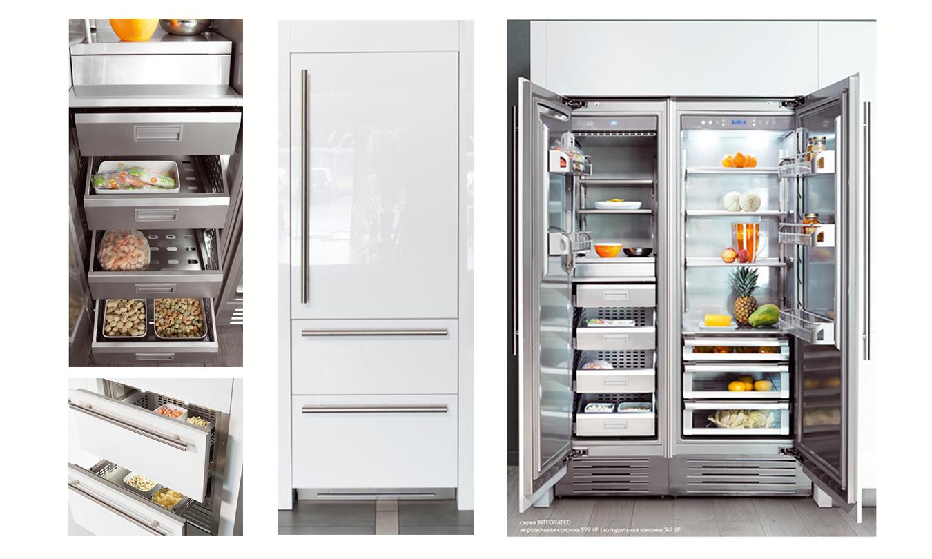Холодильник/морозильник FHIABA S7490HST