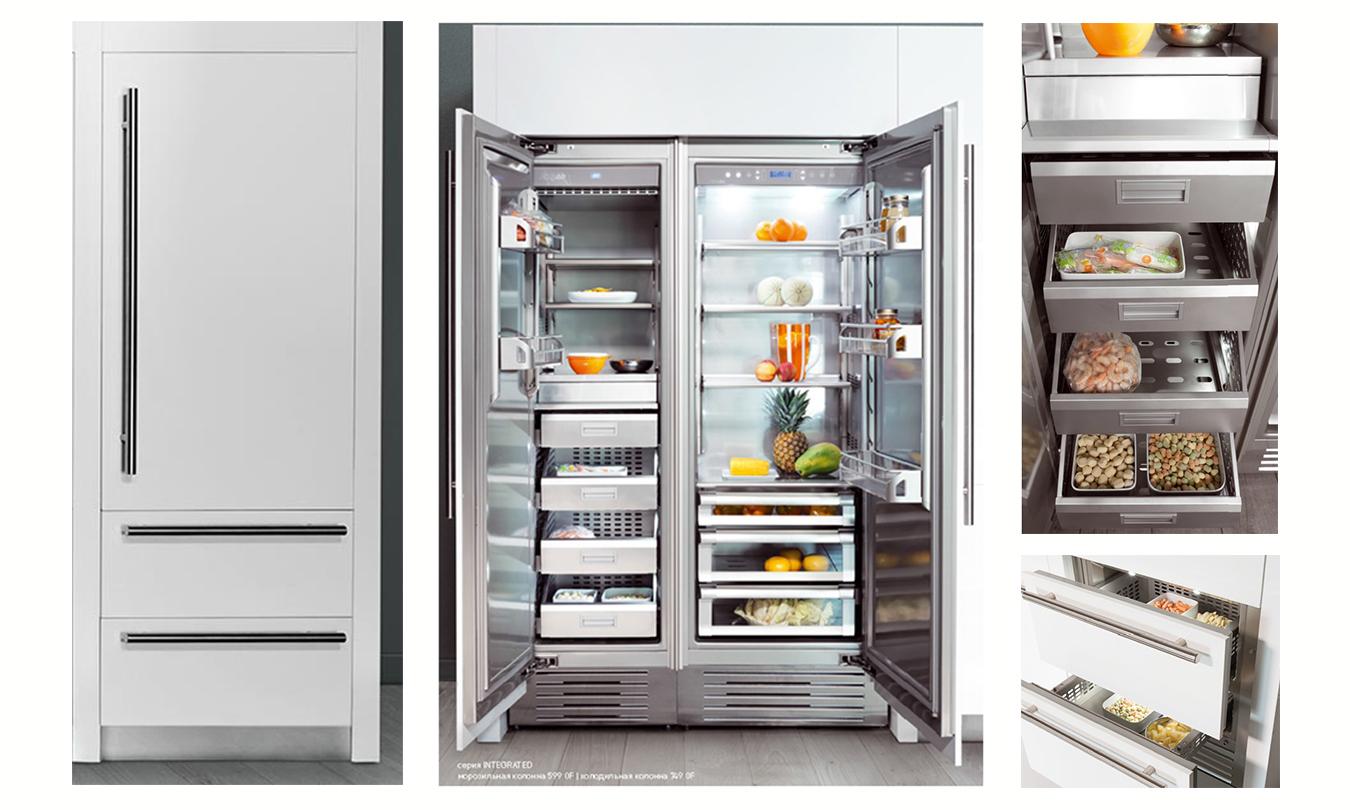 Холодильник/морозильник FHIABA S7490TST