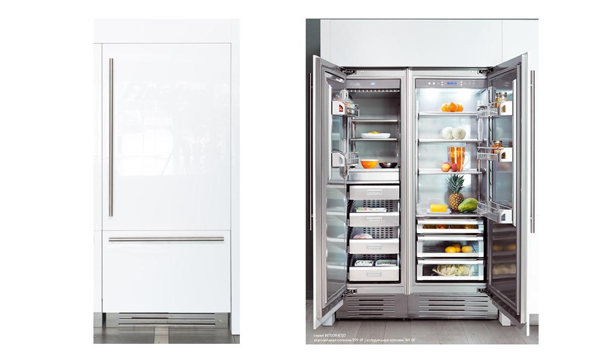 Холодильник/морозильник FHIABA S8991TST